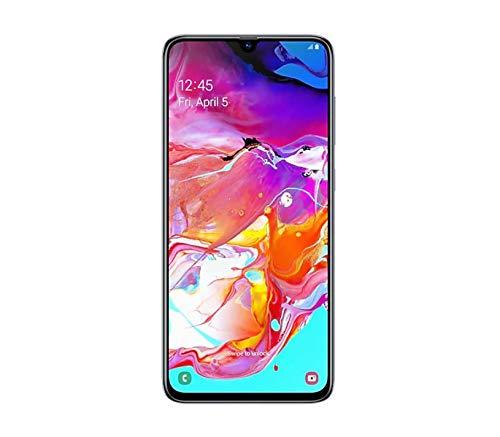 Samsung Galaxy A70 SM-A705FN/DS 128GB, Dual-Sim, 6GB RAM, 6.7-Inch, GSM Unlocked International Model, No Warranty (White)