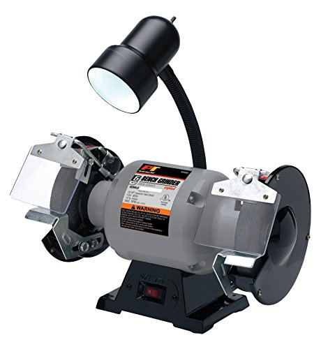 Performance Tool W50001 1/2 HP Motor 6-Inch Bench Grinder With Light