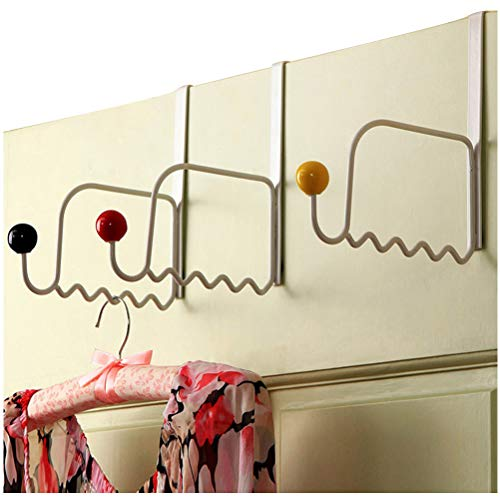 Metal Over The Door Hook 7 Inch Clothes Hanger Heavy Duty  Free Shipping Sale
