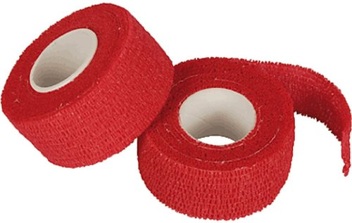 Papstar Pflasterband / Tape selbsthaftend 2er-Pack (2 Rollen á 5 m x 2,5 cm) Farbe: rot