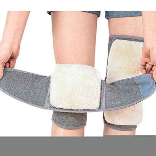 Unisex Elastische Wolle, Kaschmir, Kniebandage, Kniestütze, Kniewärmer, Polster, Legging-Strümpfe, Schmerzlinderung, wärmendes Knie, rutschfester Komfort