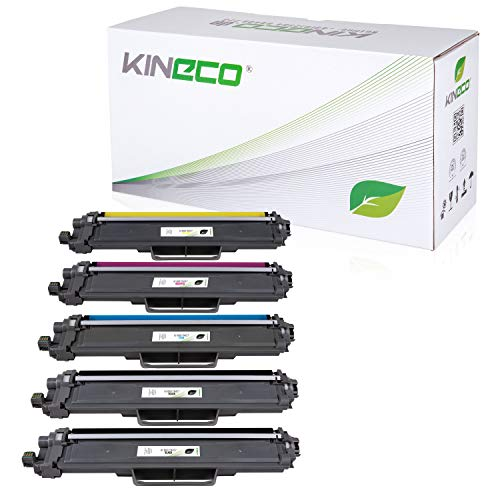 Kineco 5 Toner kompatibel für Brother TN-247 | MIT CHIP | MFC-L...