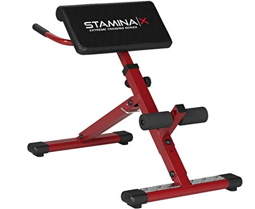 Product Image 4: Stamina Hyper Bench, Red