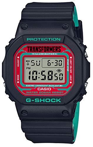 [カシオ] 腕時計 ジーショック トランスフォーマーコラボモデル DW-5600TF19-SET メンズ
