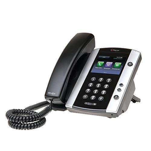 Polycom 2200-44500-025 Desktop Telefon VoIP VVX500 schwarz