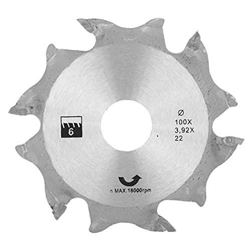 Sega circolare Disco smerigliatrice angolare Sega circolare Disco 100MM Argento denti in metallo finitura Seghe per la lavorazione del legno industriale