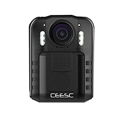 CEESC Body Worn Camera WN9 with Night Vision for Police Law Enforcement, 1080P 2 Inch LCD Screen Sports Action Camera with 120 Degree Wide Angle from Advanced Plus Group LTD