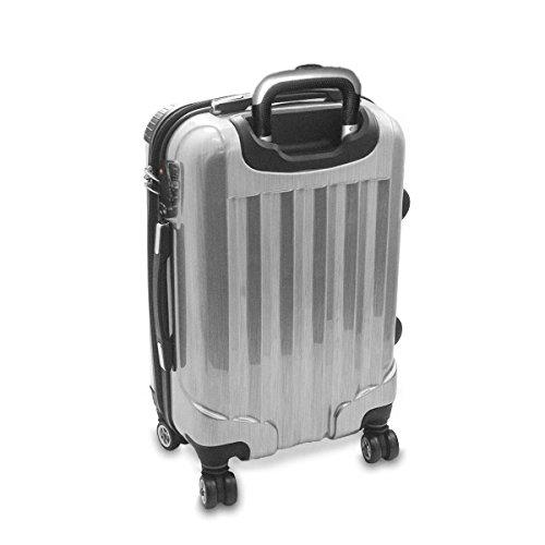 Cani 10002, Labrador Retriever, Luggage Valigia Bagaglio Ultraleggero Trasportabile Rigido con 4 Route e Disegno Intercambiabile. Dimensione: Grande, L