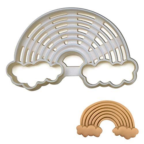 Rainbow cookie cutter, 1 piece - Bakerlogy