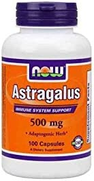 NOW- Astragalus 500 caps mg NEW before selling 100 Dealing full price reduction