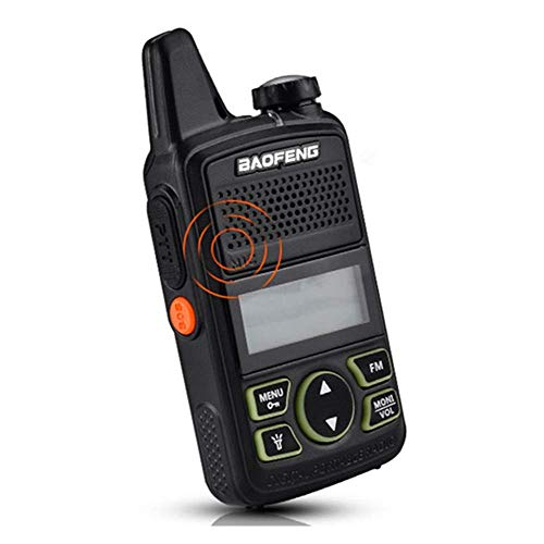 BAOFENG BF-T1 Walkie Talkie 20 Kanäle UHF PMR Funkgeräte Wiederaufladbar USB Ladeschale mit Headset