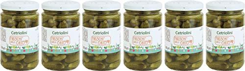 Freschi dall'Orto Cetriolini all'Aceto 6 vasi - 1800 g