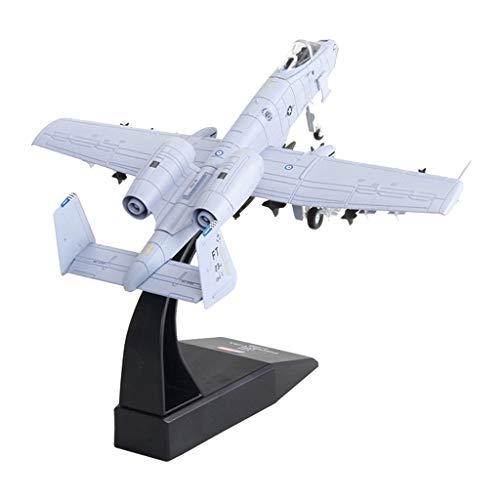 non-brand 1: 100 Modelo de A-10 Avión de Combate Ataque Diecast Modelo Militar