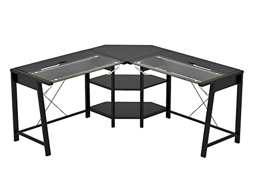 Z-Line Designs Vance L Desk, Black