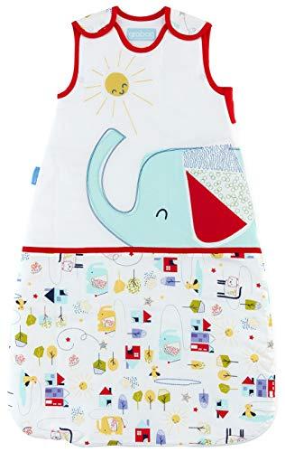 Grobag Baby Schlafsack – 2,5 Tog Good Morning Sunshine Design 100% Baumwolle Unisex Kinderzimmer Schlafsack