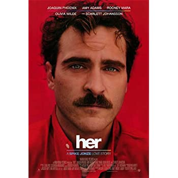 Amazon Com Her 2013 27 X 40 Movie Poster Style A Posters Prints
