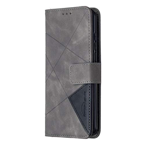 Hülle für Nokia 1.3 Hülle Handyhülle [Standfunktion] [Kartenfach] [Magnetverschluss] Tasche Etui Schutzhülle lederhülle klapphülle für Nokia 1.3 - JEBF040409 Grau