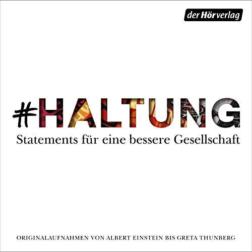 #HALTUNG audiobook cover art