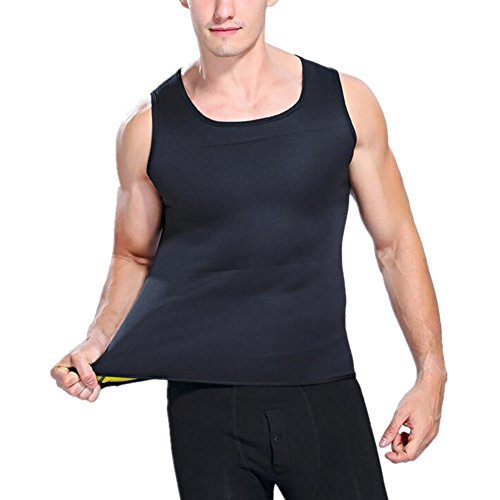 Coomir heren sweatjas neopreen body shaper Corsage Shapewear for Slimming Waist Trainer Weight Loss