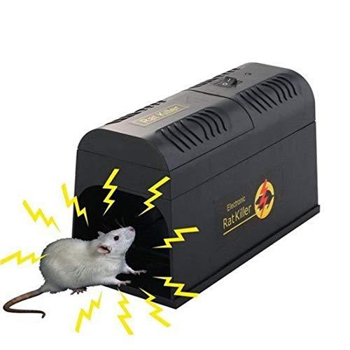LEIPING Humane Mausefalle Elektrischer MäUsemöRderhochspannungssicherer Effektiver Dauerhafter Berufsnagetiervertreiber