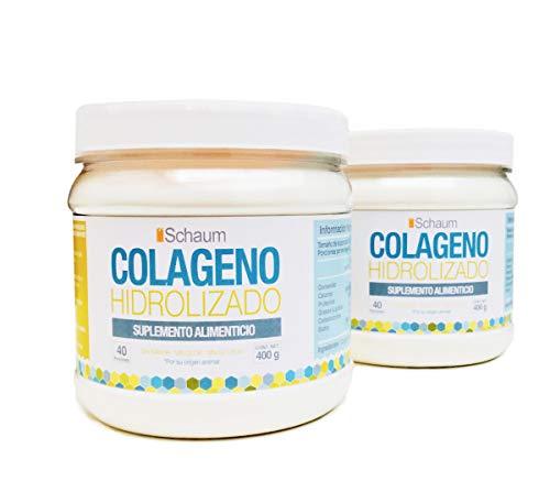 Colágeno Hidrolizado en Polvo 100% Puro, 2 Pack 400 gr. c/u. …