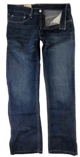Levis Herren 514 Slim Straight Leg Jean, 36 x 30, Dark Wash