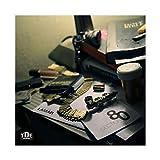 Kendrick Lamar Section.80 Álbum de lona Póster de lona para dormitorio, decoración de paisaje, oficina, habitación, decoración, regalo de 50 x 50 cm (50 x 50 cm)