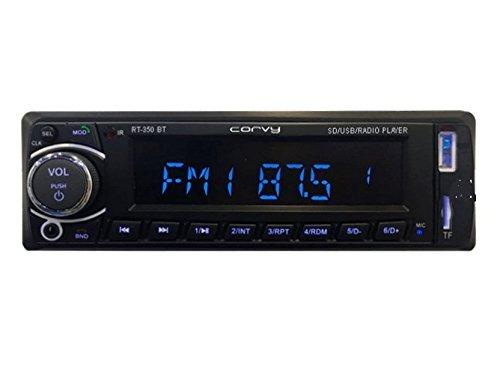 Radio CORVY RT-350 BT ILUMINATION EN 7 COULEURS