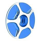 SALUTUYA Cubierta de Tapa Superior de Bicicleta Simple Duradera Peso Ligero Universal para Bicicleta de Carretera MTB(Blue)