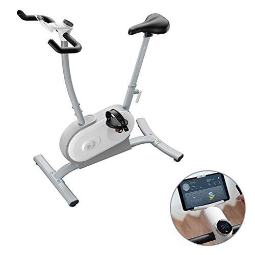 Rabbfay Potencia Interior Bicicleta Estática con Botón De Giro Multifunción, Bicicleta Dinámica Home Trainer, Equipo De Pérdida De Peso Mute Motion, Máquina De Entrenamiento