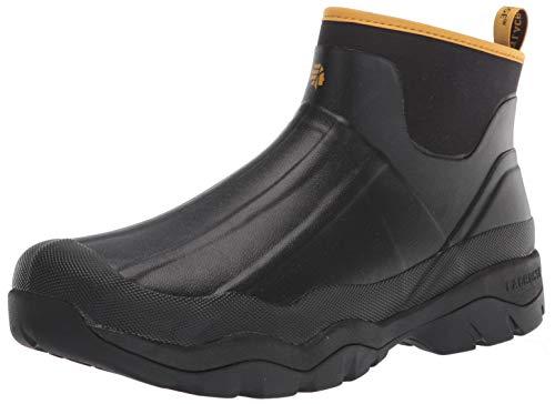 Lacrosse mens Slip-on Ankle Boot, Black, 12 US