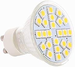 Gecheer 24 SMD 5050 LED Light Lamp Bulb Spotlight 5W GU10 220V-240V Energy-Saving Warm White