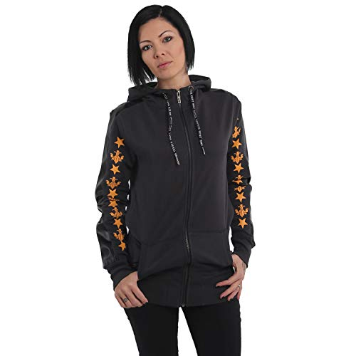 Yakuza Damen Crests Long Zip Hoodie Kapuzenjacke