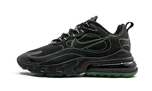 Nike Herren Air Max 270 React Sp Laufschuh, Black/Black-Electric Green, 36 EU