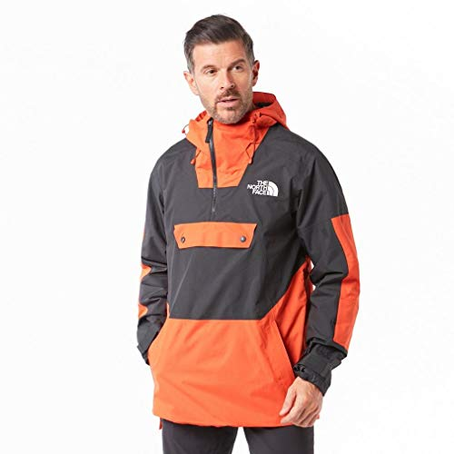 THE NORTH FACE SILVANI Mannen Ski Jas oranje