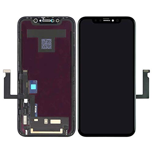 Best Shopper - Replacement Semi Original LCD Touch Screen and Digitizer Assembly Compatible with Apple iPhone XR - Black