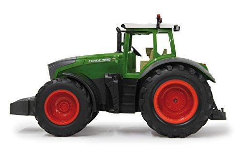 RC Auto kaufen Traktor Bild 3: Jamara 405035 – Fendt 1050 Vario 1:16 2,4Ghz – RC Traktor, Motorsound (abschaltbar), Rückfahrwarnsound, Hupe, Abschaltfunktion, 2 Radantrieb, Gummireifen, Helle LED's vorne, Blinker, Demo Funktion*