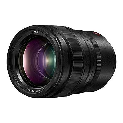 Panasonic LUMIX S PRO 50mm F1.4 Lens, Full-Frame L Mount, LEICA Certified, Dust/Splash/Freeze-Resistant for Panasonic LUMIX S Series Mirrorless Cameras - S-X50 (USA),Black by Panasonic