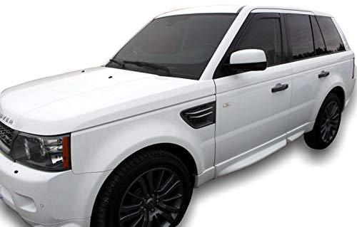 J&J AUTOMOTIVE | Deflecteurs d'air Déflecteurs de Vent Compatible avec Land Rover Range Rover Sport 5 Portes 2005-12 4pcs
