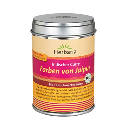 Herbaria 'Farben von Jaipur' Indischer Curry, 80 gramm