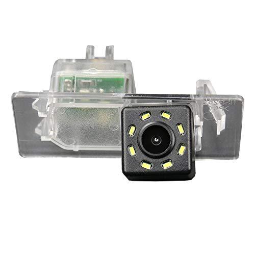 HD 720p Rueckfahrkamera Wasserdicht Farbkamera 170° Rückfahrkamera Kennzeichenleuchte Einparkhilfe Kamera für SEAT Arona Ateca 17-19 Passat B7 Atlas VW T6 Transporter/Caravelle/Multivan 15~18