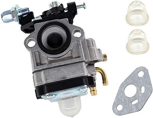 SYCEZHIJIA Piezas de Repuesto para cortacésped Conjunto de carburador para Einhell Royal MSB34 / MSB 34 / FUXTEC FX-RT126 Cortar