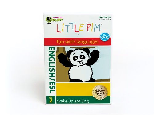 Little Pim: Wake Up Smiling (English) (Esl) (2pc) [DVD] [Region 1] [NTSC] [US Import]