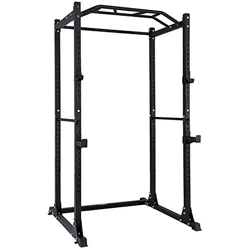 novi Power Rack, Indoor Regolabile Dispositivo di Allenamento Completo Telaio per l'allenamento con...