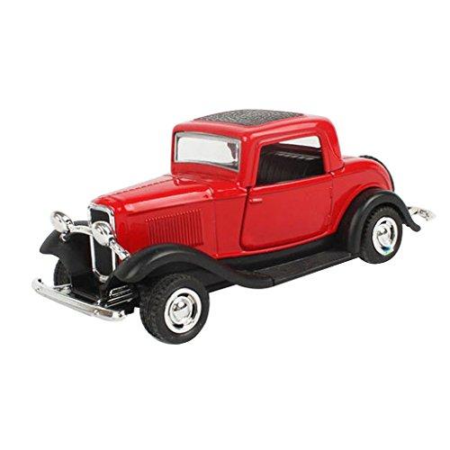 Sharplace 1:32 Legierung Klassischen Wecker Oldtimer Auto Modell Spielzeug Geschenk