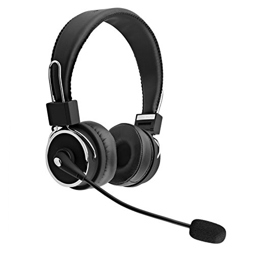 Blue Tiger Dual Elite Wireless Bluetooth Headset (Renewed)