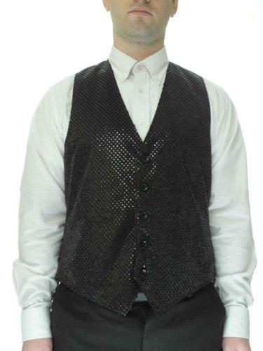 SixStarUniforms Men's Sequin Vest