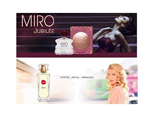 Miro JUBILEE Eau de Parfum Spray 75 ml + Miro Femme Eau de Parfum Spray 50 ml