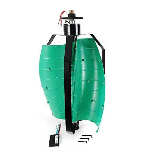 Eje vertical del generador de turbina eólica DC12V 300W con velocidad nominal de 390r / m