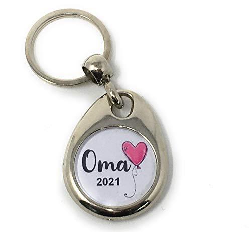 Schlüsselanhänger Du wirst Oma Geschenk ausgefallen Schwangerschaft verkünden
